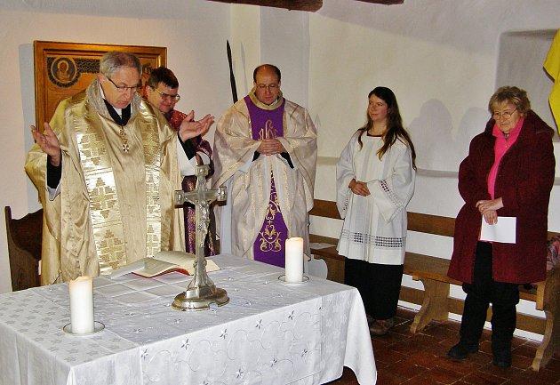Requiem za Karla IV. na Kašperku.