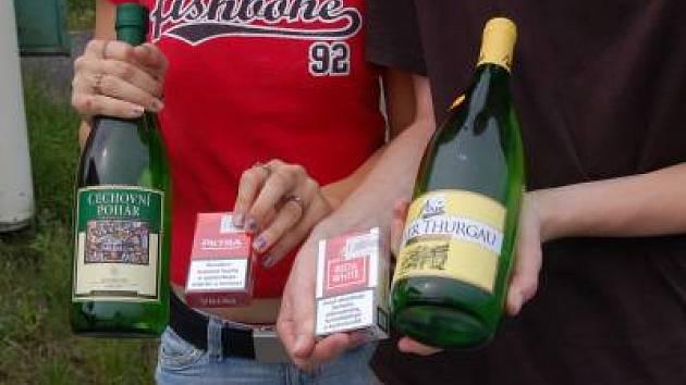 Alkohol a kuřivo mladistvým? Žádný problém