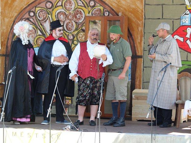O víkendu se v Klatovech konaly Divadelní slavnosti.