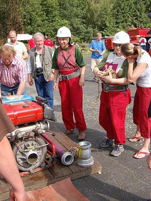 V Měcholupech se v sobotu 21. června konala celookresní soutěž dobrovolných hasičů, které se zúčastnilo 22 družstev mužů a 12 družstev žen.