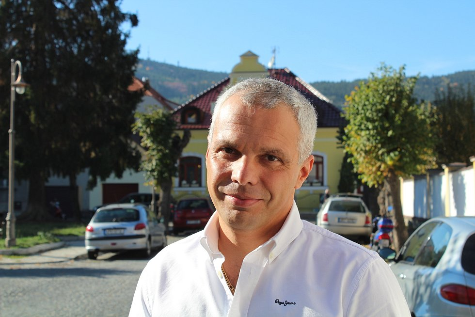 Bývalý ředitel hotelu Šumava Jaroslav Hranička.