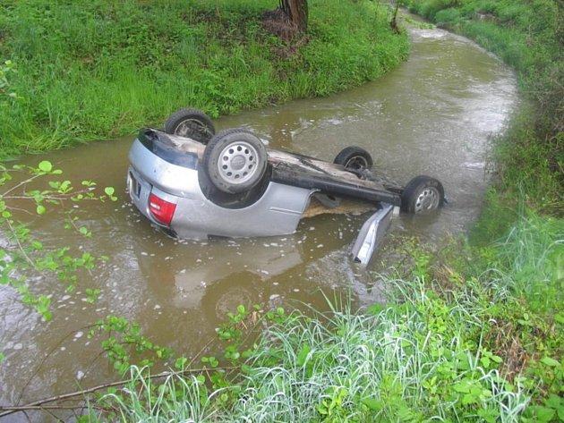 Dopravní nehoda u Švihova