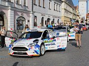 Start 53. Rallye Šumava Klatovy