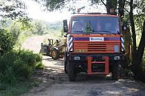 Novou cestu budou mít zahrádkáři i obyvatelé samoty Na Cihelně pod Čínovem.