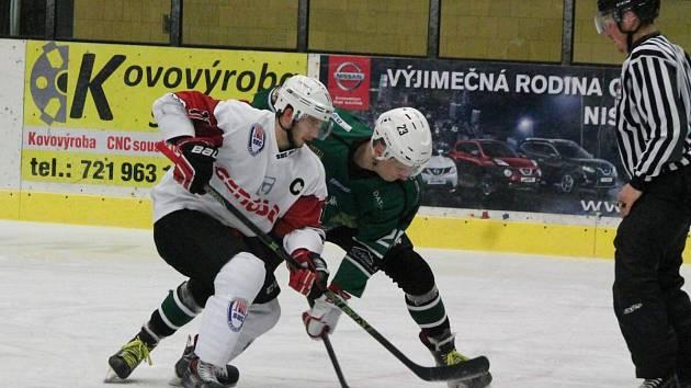 2. liga 2016/2017: SHC Klatovy (bílé dresy) - HC Draci Bílina 11:1