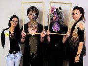 Kadeřnická a kosmetická soutěž Glamour v Sušici. Foto: M. Jetel