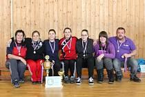 Vyhlášení výsledků letní dívčí amatérské fotbalové ligy 2015