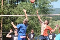 37. ročník volejbalové turnaje mužů a žen O pohár splavu - Memoriál Antonína Janečka.