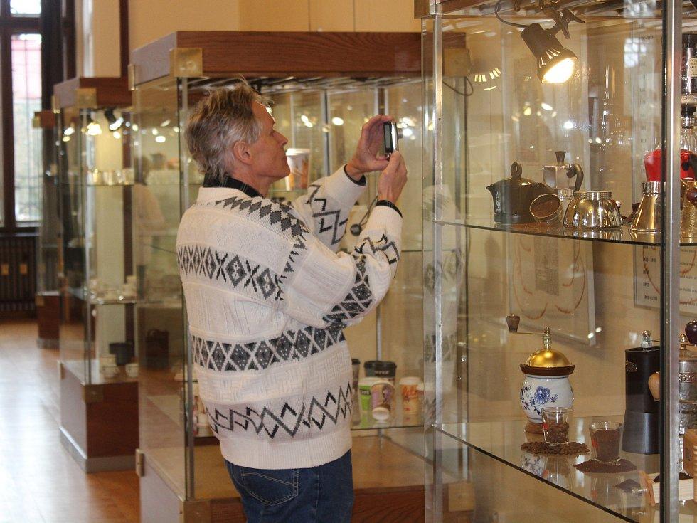 Den kávy v klatovském muzeu.
