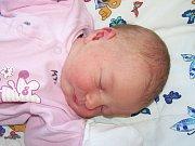 Aneta Majerová z Klatov (4040 g, 52 cm) se narodila v klatovské porodnici 27. listopadu v 16.18 hodin. Rodiče Iva a Zdeněk přivítali očekávanou dceru společně na svět. Na sestřičku se doma těší Zdenda (3 roky).