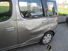 Nabourané auto.