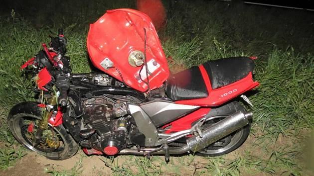 Dopravní nehoda u Malého Boru.