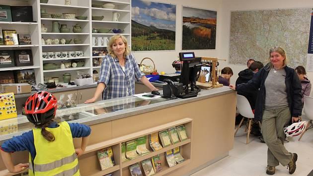 Nové turistické informační centrum obce Modrava