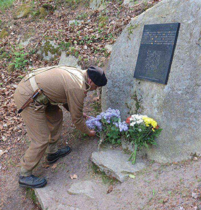 Oslavy 73. výročí osvobození v Chanovicích