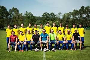 Fotbalisté Hrádku.