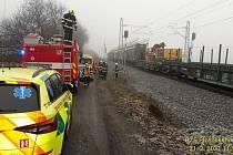 K vážnému úrazu vyjížděli záchranáři v neděli do Pačejova-nádraží. Proudem tam byl popálen mladý muž.