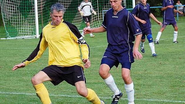 Fotbal Dlouhá Ves - Pačejov 3:1