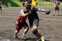 Chudenice (na archivním snímku hráč vpravo) vyhrály.