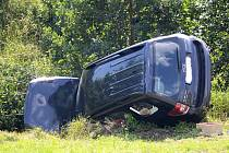Nehoda v Dehtíně.