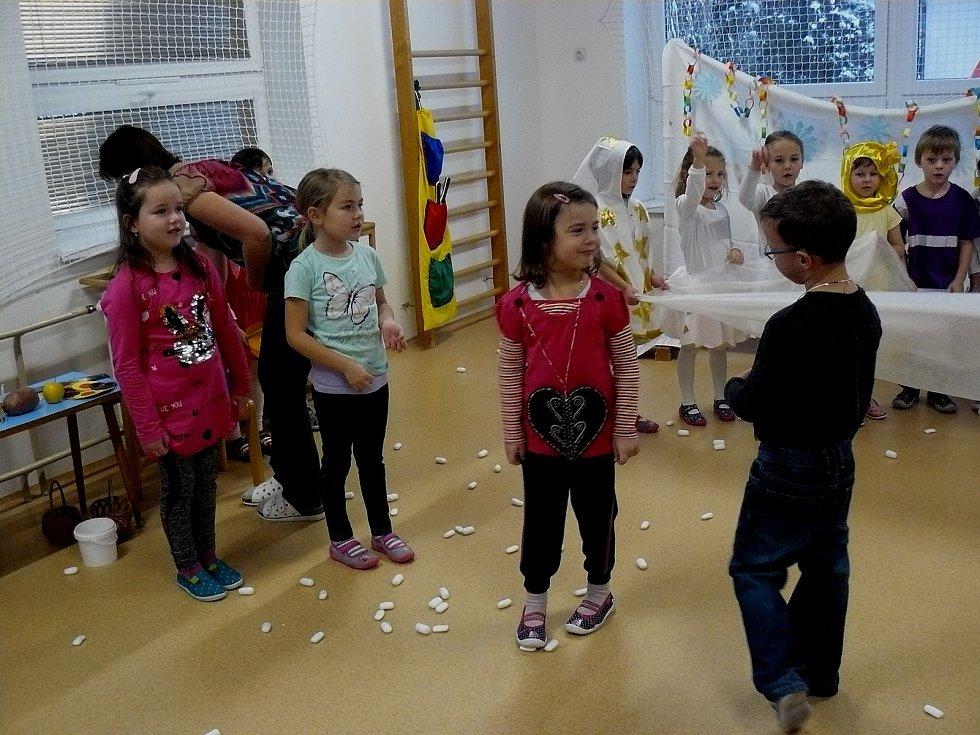 Vánoční besídka v pačejovské školce.