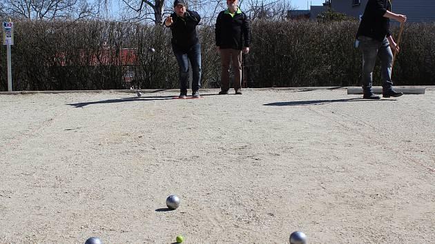 Jarní turnaj v pétanque v Klatovech 2018