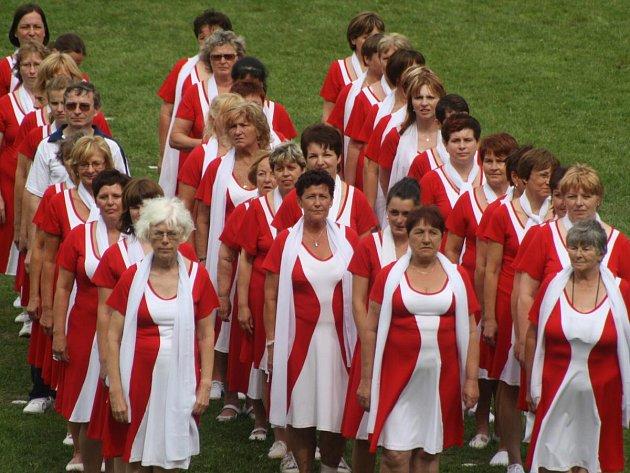 Župní sokolský slet v Klatovech 2012
