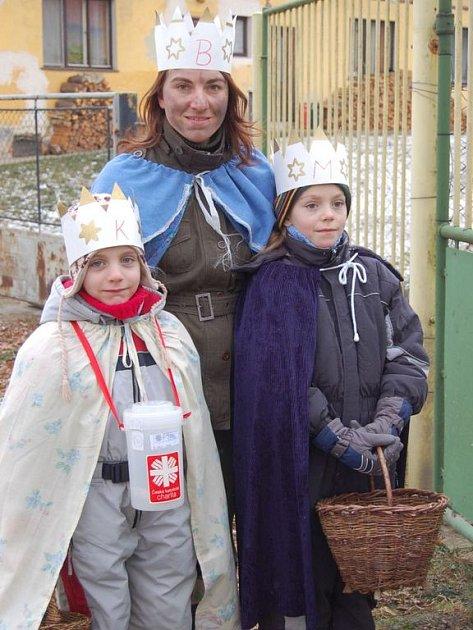 Již devátá Tříkrálová sbírka se  rozběhla po celé republice. Nejinak je tomu i na Klatovsku.