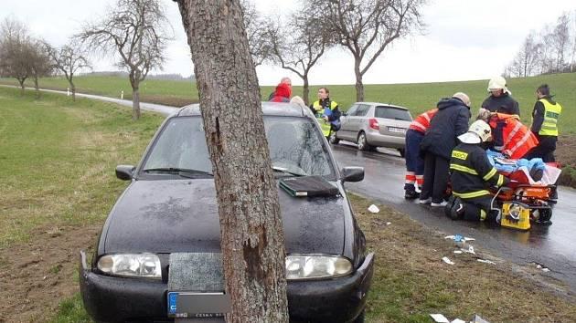 Nehoda u Dražovic.
