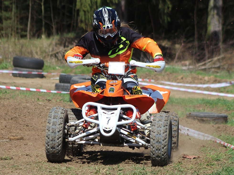 Dětský pohár v rallye čtyřkolek ČPP Cup 2018: 1. závod v Biřkově