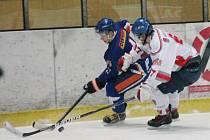Liga juniorů HC Klatovy (b) - HC Litoměřice 9:2.