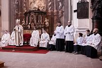 Součástí oslav bude i mše v jezuitském kostele, ilustrační foto