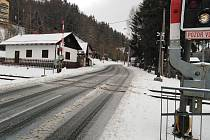 Průtah se bude opravovat od kolejí směrem na Klatovy.