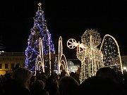 Rozsvícení vánočního stromu v Sušici 2016.
