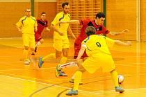 Celostátní liga ve futsalu Trivel Klatovy - Gioia Brna 4:1.