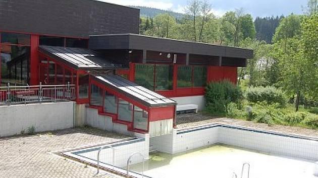 Uzavřený bavorský bazén.