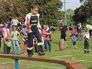 Hasičská soutěž dětí v Bezděkově 2016.
