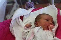 Rozálie Marie Černíková zMaňovic se narodila vklatovské porodnici 4. února ve21.02 hodin (3880 g, 50 cm). Pohlaví svého prvorozeného miminka znali rodiče Simona a Tomáš dopředu.