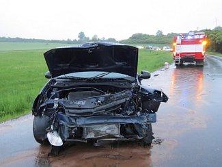 Dopravní nehoda u Hrádku