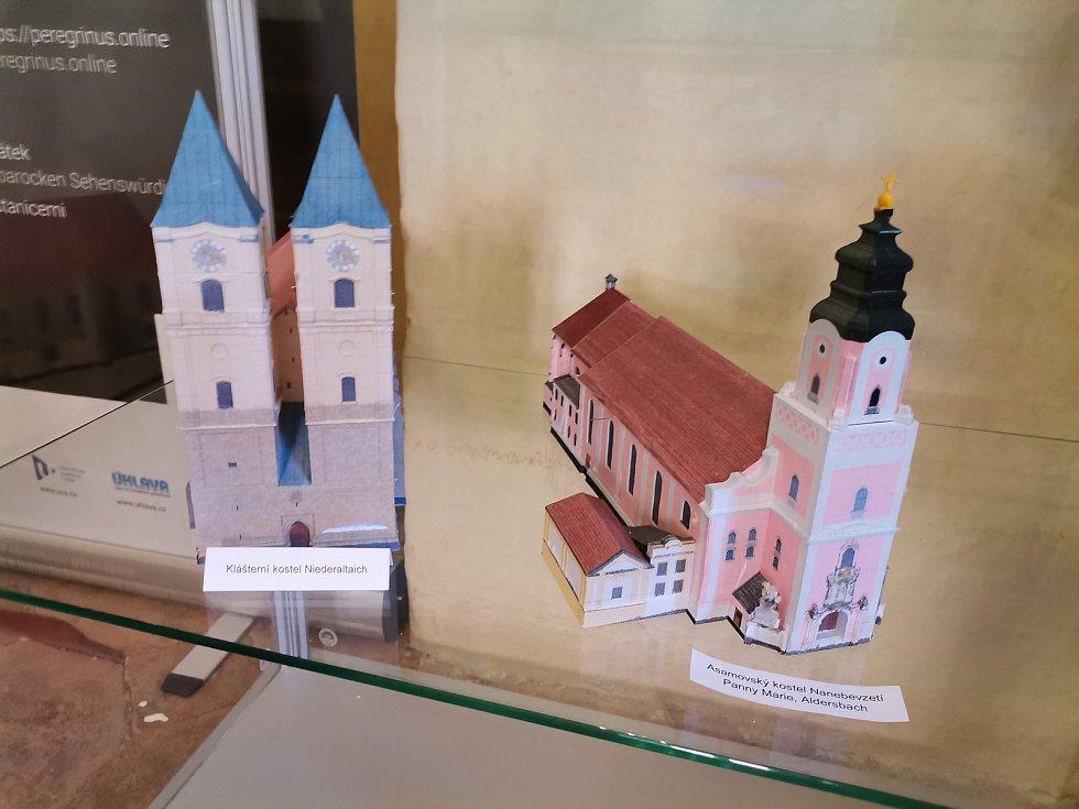 Výstava modelů na chudenickém zámku.