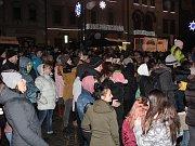 Přivítání nového roku v Klatovech.