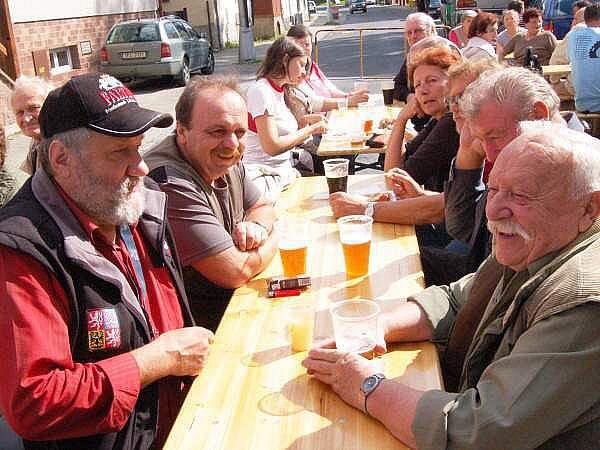 V Železné Rudě měli pivobraní i turistický pochod