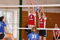 Klatovské volejbalistky hostily v posledním letošním utkání I. ligy kadetek Liberec.