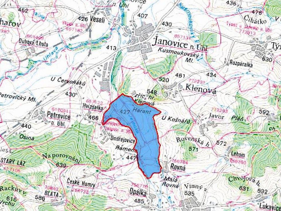"""Takto vypadají """"území chráněná pro akumulaci povrchových vod"""" na Klatovsku"""