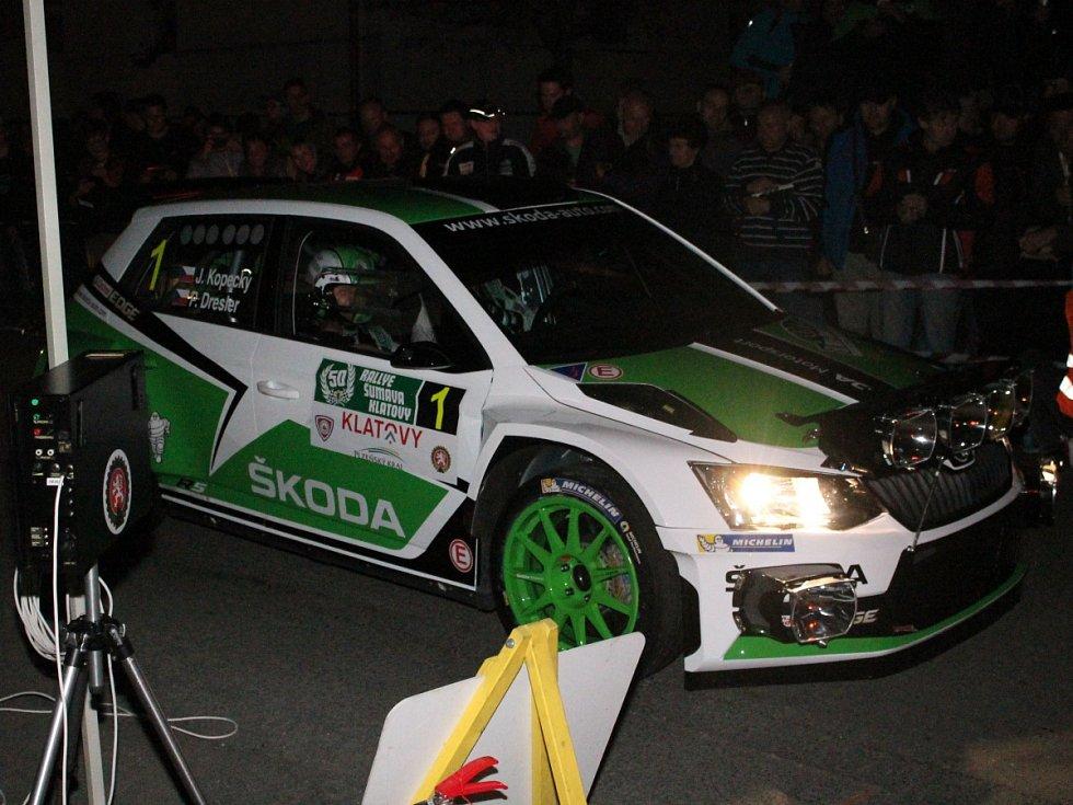 RZ 4 - 1. Rallye Šumava Legend a 50. Rallye Šumava Klatovy