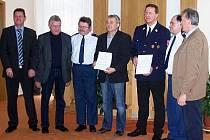 Smlouvy o spolupráci hasičských sborů byla podepsána v Nýrsku