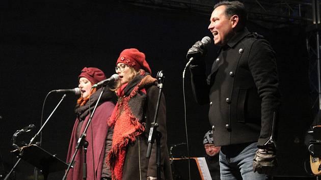 Koncert Pavla Vítka v Klatovech.