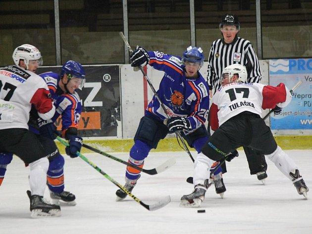 2. liga 2016/2017: SHC Klatovy (bílé dresy) - HC Řisuty 3:5