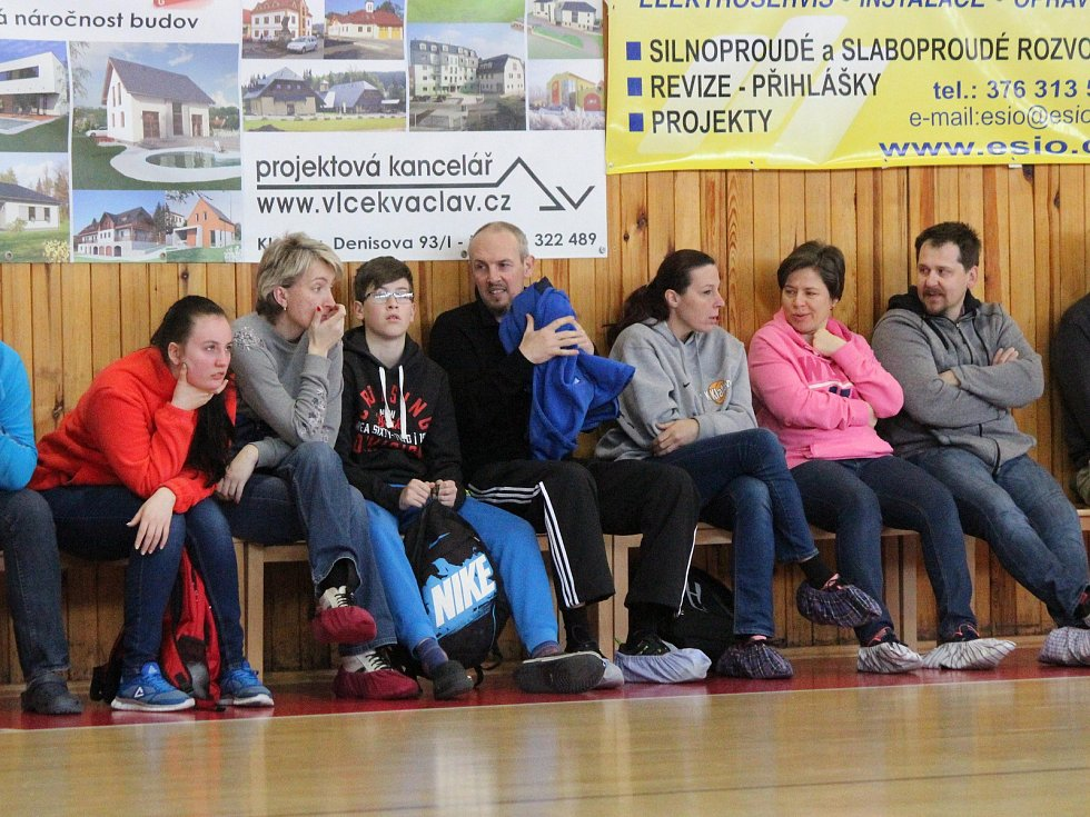 Liga starších žáků U15 2017/2018: Klatovy (bílé dresy) - Písek