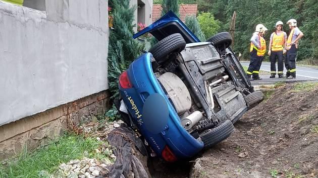 Nehody v Kokšíně.