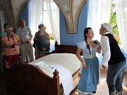 Oživené prohlídky na zámku v Chudenicích